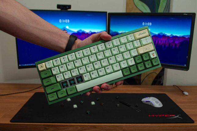 Кастомная механическая клавиатура (Tofu60 + Durock T1)