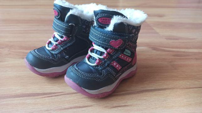 Buty zimowe Cortina roz. 20