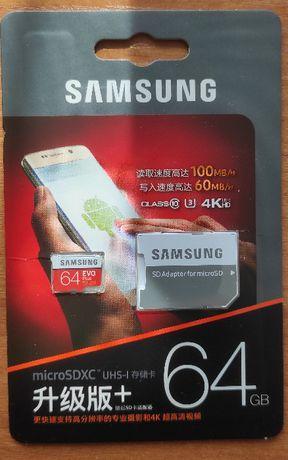Samsung EVO PLUS microSDXC 64GB UHS-I U3