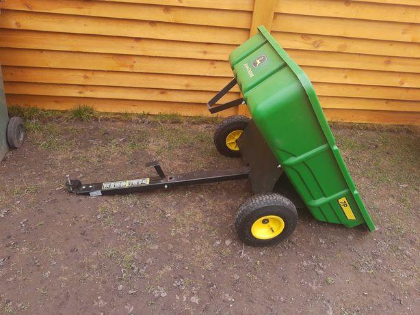 Przyczepka John Deere do traktorków ogrodowych