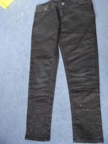 spodnie dziewczęce rozmiar 134