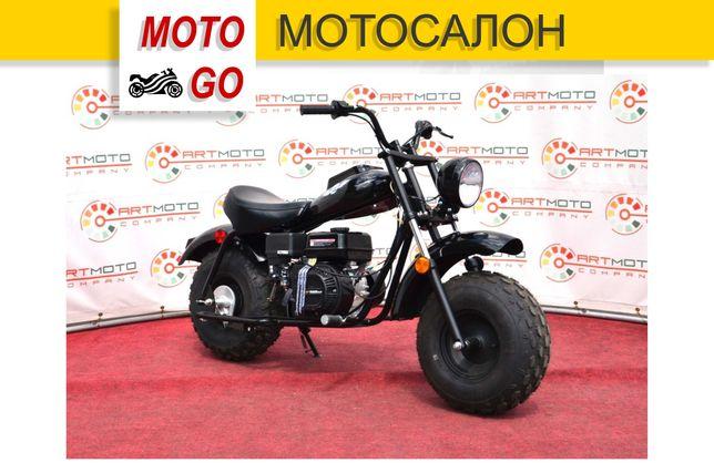 Новый Мотоцикл Mini Bike Linhai-Yamaha MB200 черный. Гарантия, Кредит!