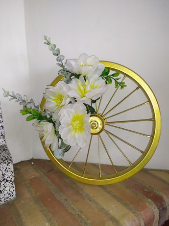 Decoracao aro bicicleta