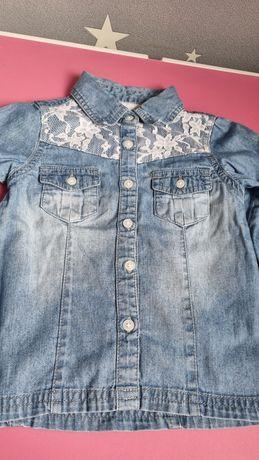 Koszula jeansowa z koronką Young Dimension rozm 92