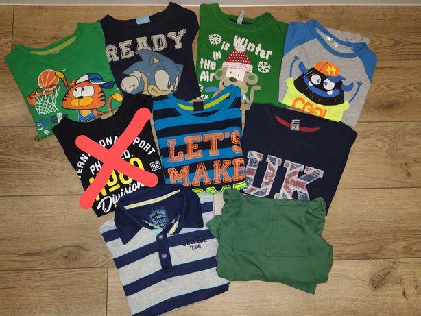 Bluzka bluza bluzki koszulka Reserved 51015 cool club paka zestaw