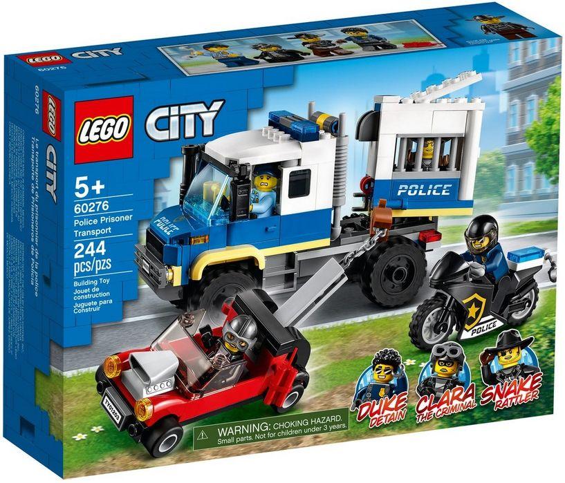 Lego City Policyjny konwój więzienny 60276 Wys24 Nowość 2021 Pawłowice - image 1