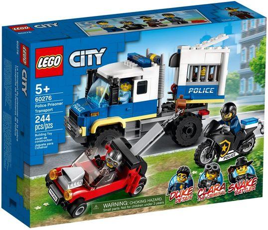 Lego City Policyjny konwój więzienny 60276 Wys24 Nowość 2021