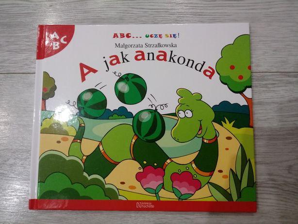 "Nowa książka ""A jak Anakonda"""