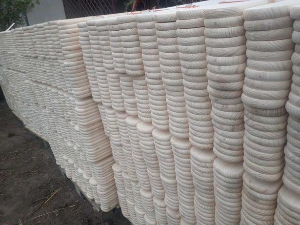 Sztachety drewniane (świerkowe) 100-200cm