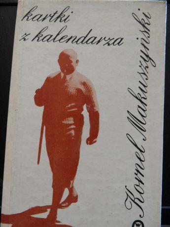 Kartki z kalendarza KornelMakuszyński