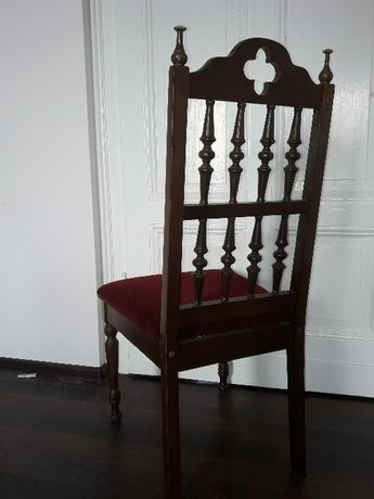 Krzesła drewniane kpl. 6 sztuk