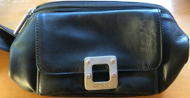 [GRIMANI] Mala de cintura Vintage e Nova - PELE ITALIANA