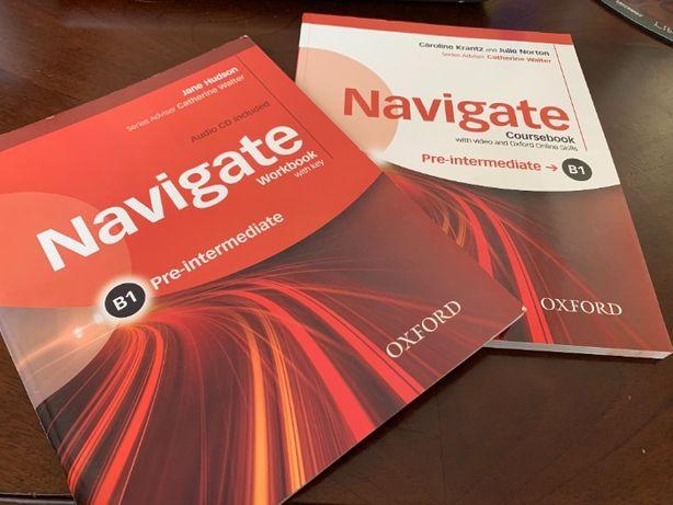 Продам Navigate Pre-Intermediate Coursebook + Workbook Oxford