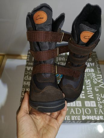 Зимние термо ботинки Ciao Tex Suede 26.27.28.29.30.31. Италия