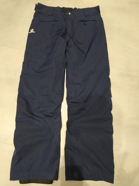 Spodnie narciarskie, snowboardowe Salomon AdvancedSkin Dry, męskie