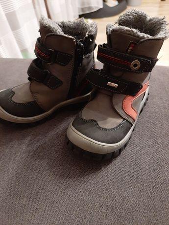 Buty zimowe chłopięce Lasocki Kids skóra 24