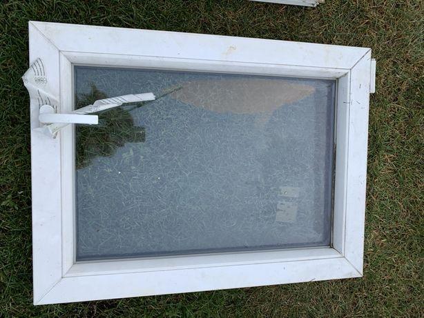 Biale okno pcv bez futryny