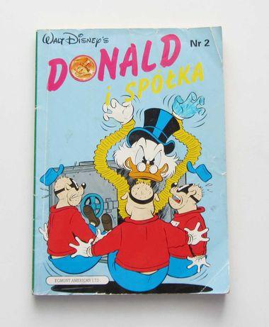Komiks Donald i Spółka z 1991 r. Nr 2