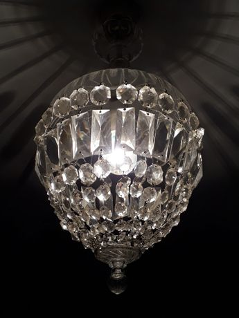Żyrandol kryształowy