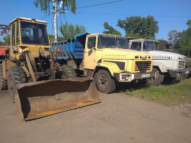 КРАЗ, ДТ 75, ГАЗ, Екскаватор ЕО 4321, навантажувач ТО30, ТО18