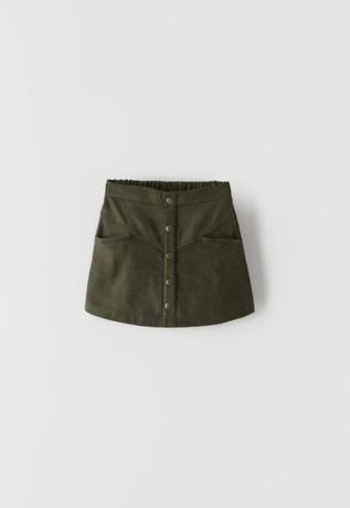 Zara nowe krótkie spodnico-spodenki 140