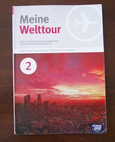 Meine Welttour. Język niemiecki 2 Zeszyt ćwiczeń. Szkoła ponadgimnaz