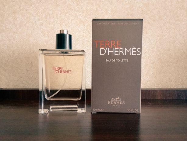 Мужская парфюмированная вода Terre d'Hermes