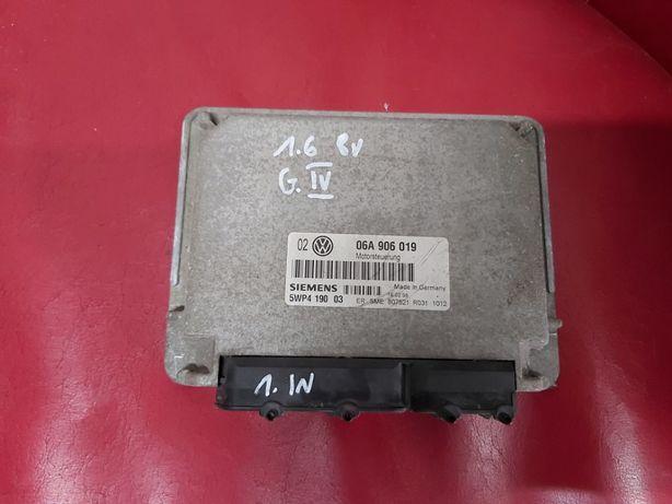 Sterownik silnika vw golf IV 1.6 8v 06a.906.019