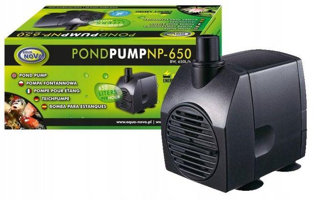 Pompa Do Oczka Wodnego Kaskady Fontanna Aqua Nova Np-650 650l/h