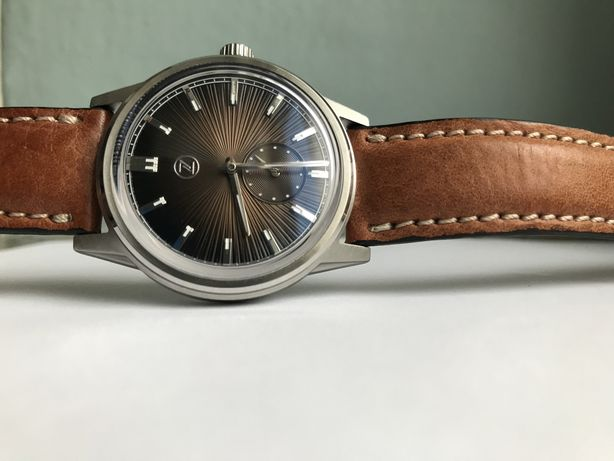Zelos Nova Espresso Brown 38mm Eta 7001