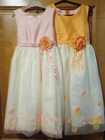 Нарядное платье в двух цветах