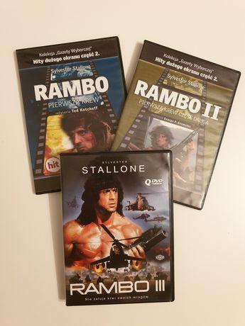 Rambo DVD Trylogia