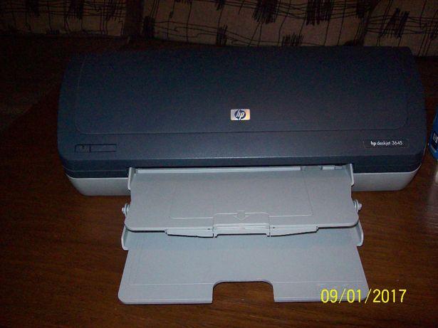 Drukarka HP 3645 + Oryginalne tusze