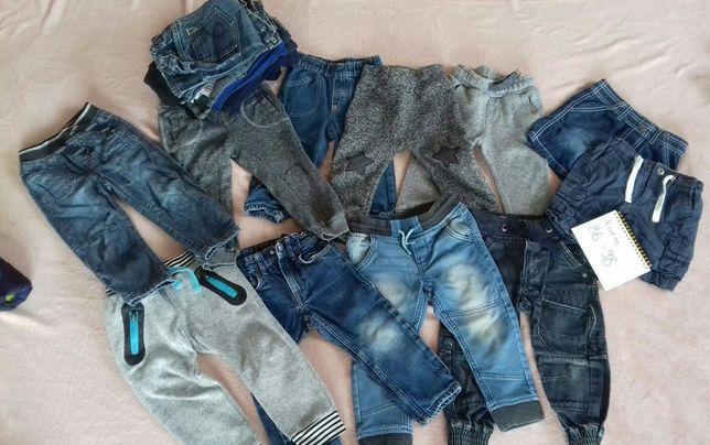 Spodnie dla chłopca 86 do 98