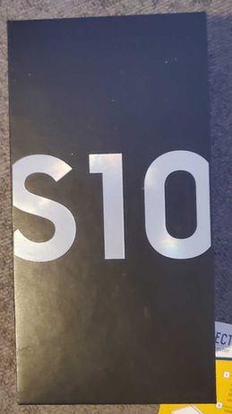 CAIXA de Samsung Galaxy S10 128GB Prism White