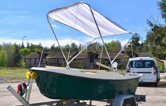 Od 73zł/msc Nowa łódka łódź KrakenBoat Kraken 265 wędkarska rekreacyjn