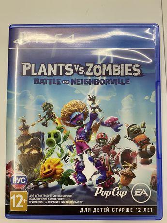 Ps4 Ps5 Растения против зомби: битва за нейборвиль