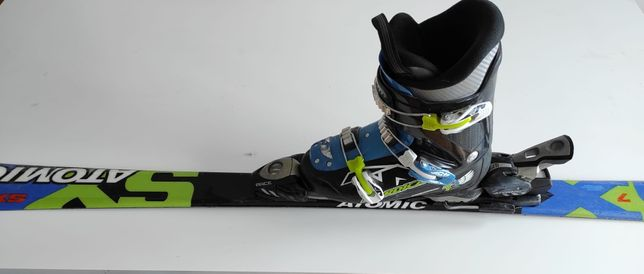 Narty Atomic SX7 130cm+ buty Nordica rozmiar 24-25