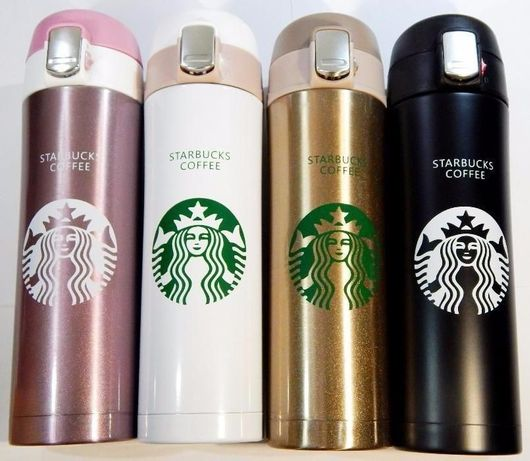 С БЛОКОМ Термос термокружка чашка стакан Starbucks Старбакс для кофе