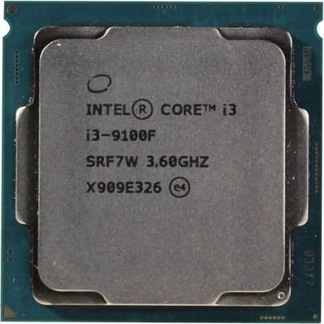 Процессор Intel Core I3-9100f + Материнская плата Gigabyte H310m DS2