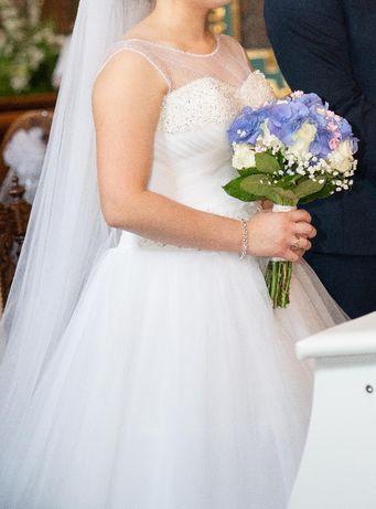 Sukienka ślubna s/m
