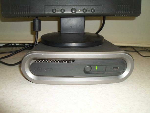 Компьютер, системный блок NCR RealPOS 7600-2000-8801, два ядра Intel.
