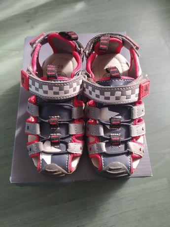 Sandały dla chłopca Cara rozm 26