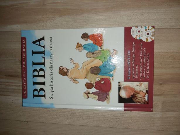 Biblia dla dzieci z płytą CD