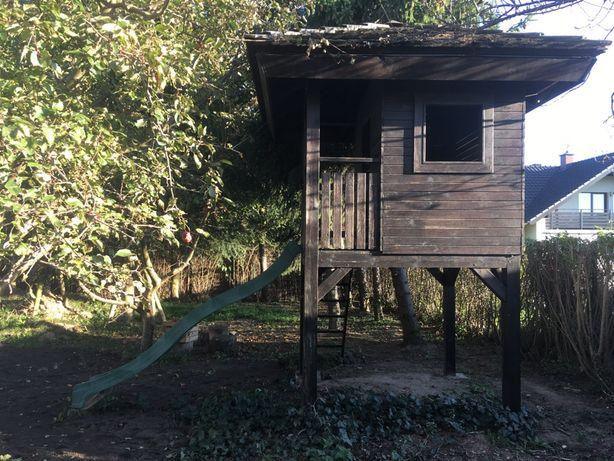 Domek drewniany dla dzieci