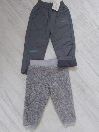 Spodnie chłopięce 2 szt