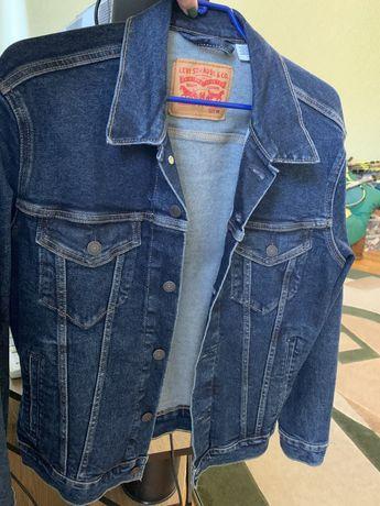 Куртка джинсовая Levis мужская новая