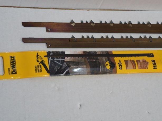 Noze DEWALT DT 2978 drewno płyta brzeszczot pila aligator Dwe 397,398