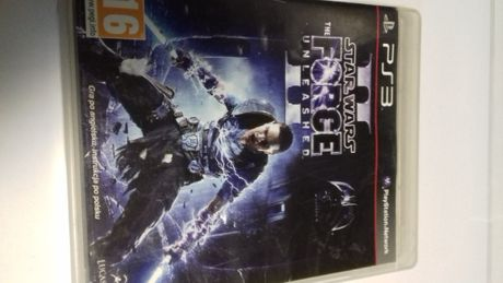 Star wars the force unleashed 1, 2 Ps3, Sklep Tychy