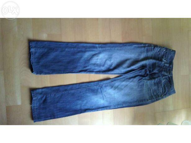 Calças Sisley - tamanho 34 - Portes grátis